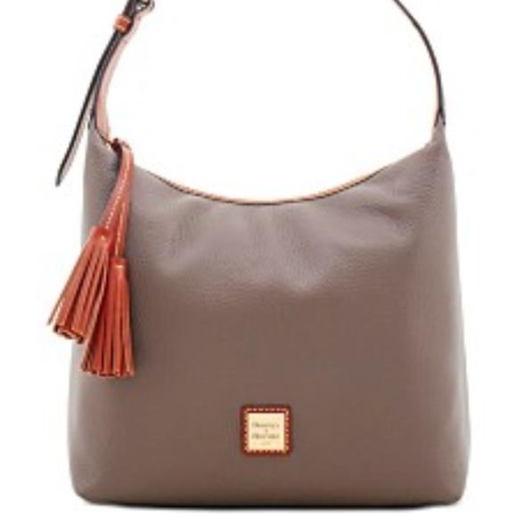Dooney & Bourke Handbags - Pebble Grain Extra Large Courtney Sac - Elephant